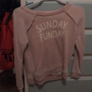 Longsleeve Sunday Funday shirt